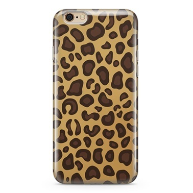Lopard Apple iPhone 6 Plus Kılıf Leopar Kapak Renkli